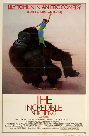 The Incredible Shrinking Woman - Movie Poster (thumbnail)
