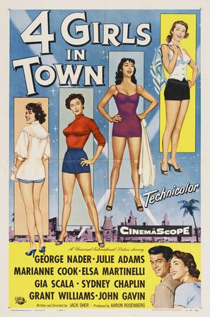 Four Girls in Town - Movie Poster (thumbnail)