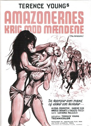 Le guerriere dal seno nudo - Danish Movie Poster (thumbnail)