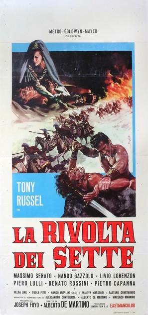 La rivolta dei sette - Italian Movie Poster (thumbnail)