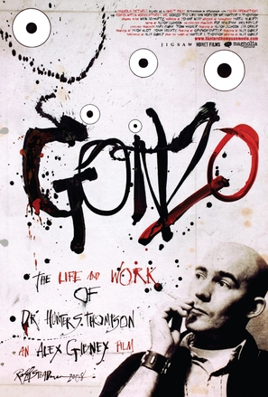 Gonzo: The Life and Work of Dr. Hunter S. Thompson - Movie Poster (thumbnail)