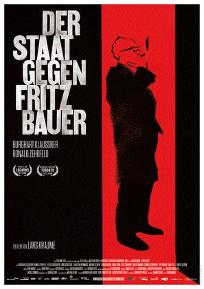 Der Staat gegen Fritz Bauer - German Movie Poster (thumbnail)
