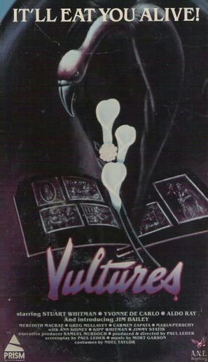 Vultures - VHS movie cover (thumbnail)