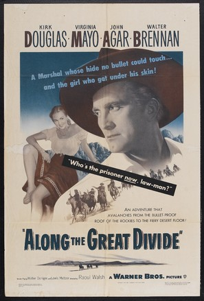 Along the Great Divide - Theatrical poster (thumbnail)