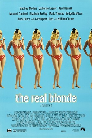 The Real Blonde - Movie Poster (thumbnail)