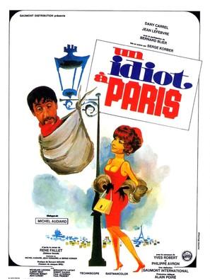 Un idiot à Paris - French Movie Poster (thumbnail)