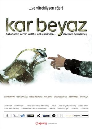 Kar Beyaz - Turkish Movie Poster (thumbnail)