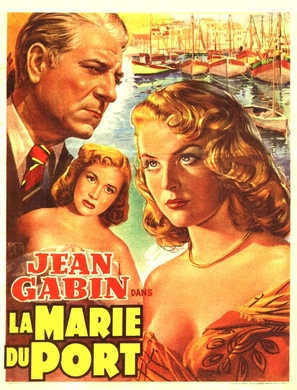 Marie du port, La - Belgian Movie Poster (thumbnail)