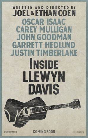 Inside Llewyn Davis - Movie Poster (thumbnail)