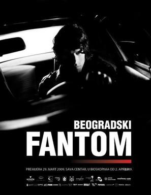 The Belgrade Phantom - Serbian Movie Poster (thumbnail)