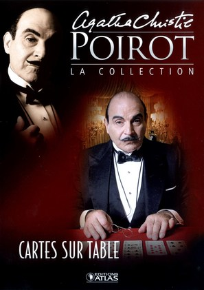 """""""Poirot"""" Cards on the Table - French poster (thumbnail)"""