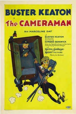 The Cameraman - Movie Poster (thumbnail)