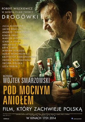 Pod Mocnym Aniolem - Polish Movie Poster (thumbnail)