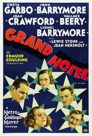 Grand Hotel - Movie Poster (thumbnail)