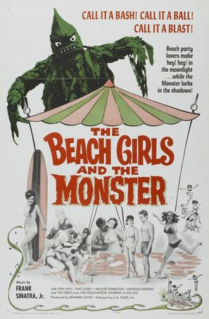 The Beach Girls and the Monster - Movie Poster (thumbnail)