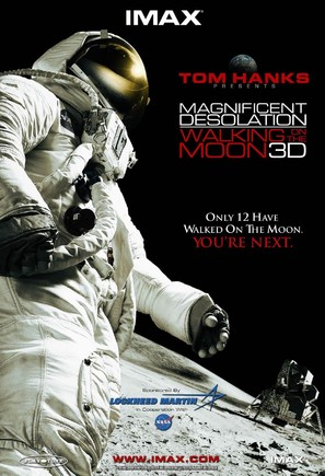 Magnificent Desolation: Walking on the Moon 3D - Movie Poster (thumbnail)