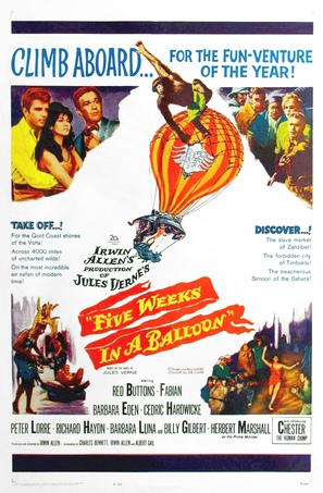 Five Weeks in a Balloon - Movie Poster (thumbnail)
