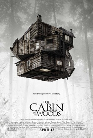 The Cabin in the Woods - Movie Poster (thumbnail)