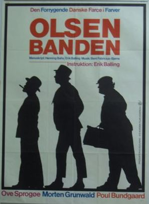 Olsen-banden - Danish Movie Poster (thumbnail)