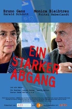Ein starker Abgang - German Movie Poster (thumbnail)