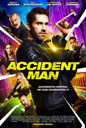 Accident Man - British Movie Poster (thumbnail)