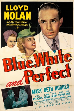 Blue, White and Perfect - Movie Poster (thumbnail)