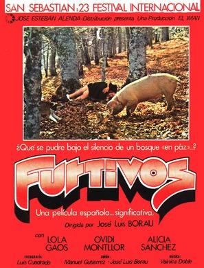 Furtivos - Spanish Movie Poster (thumbnail)