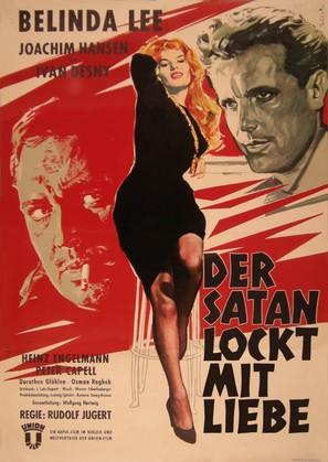 Der Satan lockt mit Liebe - German Movie Poster (thumbnail)
