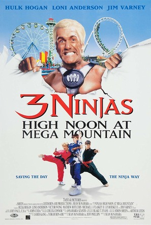 3 Ninjas: High Noon at Mega Mountain - Movie Poster (thumbnail)