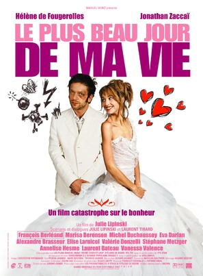 Plus beau jour de ma vie, Le - French Movie Poster (thumbnail)