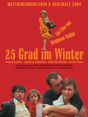 25 degrés en hiver - German poster (thumbnail)