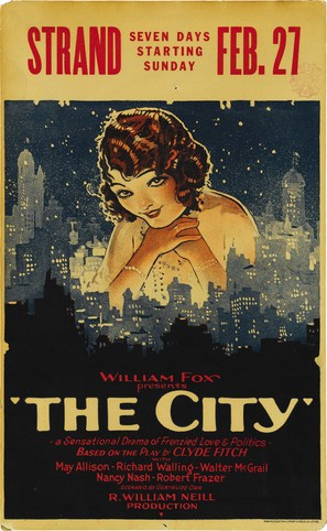 The City - Movie Poster (thumbnail)