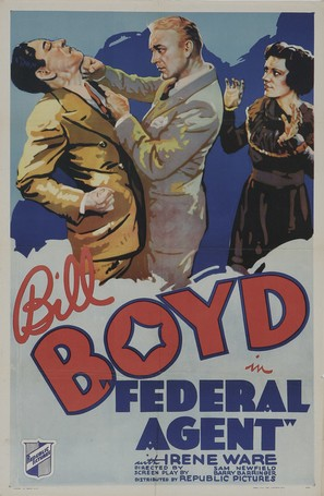 Federal Agent - Movie Poster (thumbnail)