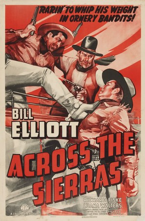 Across the Sierras - Movie Poster (thumbnail)