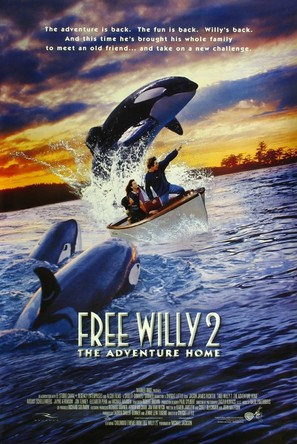 Free Willy 2: The Adventure Home - Movie Poster (thumbnail)