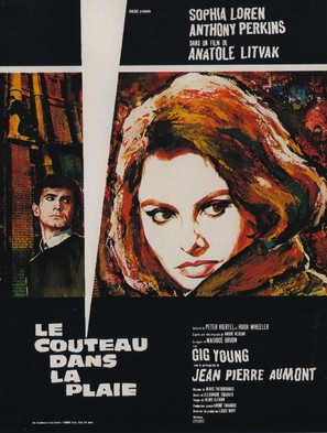 Couteau dans la plaie, Le - French Movie Poster (thumbnail)