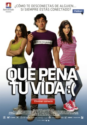 Que pena tu vida - Chilean Movie Poster (thumbnail)