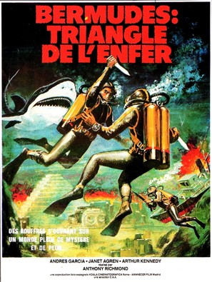 Bermude: la fossa maledetta - French Movie Poster (thumbnail)