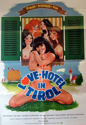 Love-Hotel in Tirol - German Movie Poster (thumbnail)