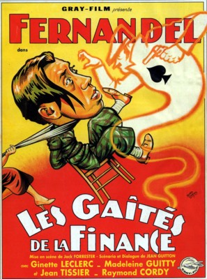 Les gaîtés de la finance - French Movie Poster (thumbnail)