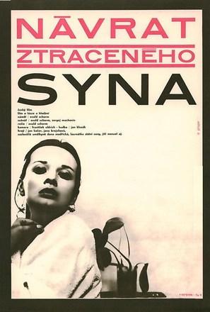 Návrat ztraceného syna - Czech Movie Poster (thumbnail)