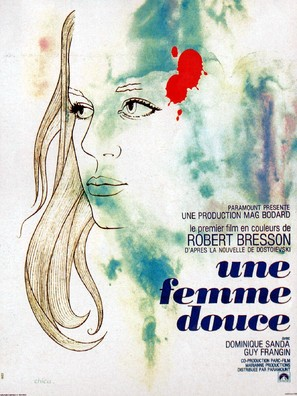 Une femme douce - French Movie Poster (thumbnail)