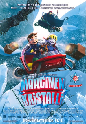 Maaginen kristalli - Finnish Movie Poster (thumbnail)