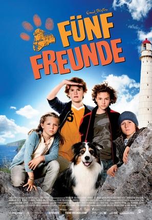 Fünf Freunde - Swiss Movie Poster (thumbnail)