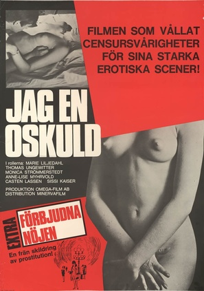 Jag - en oskuld - Swedish Movie Poster (thumbnail)