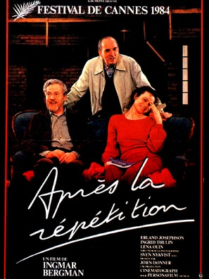 Efter repetitionen - French Movie Poster (thumbnail)