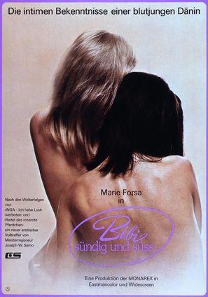 Vild på sex - German Movie Poster (thumbnail)