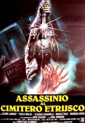Assassinio al cimitero etrusco - Italian Movie Poster (thumbnail)