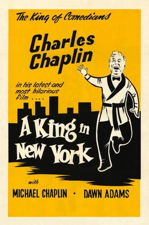A King in New York - Movie Poster (thumbnail)
