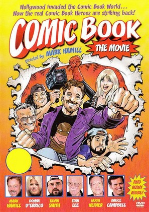 Comic Book: The Movie - Movie Cover (thumbnail)